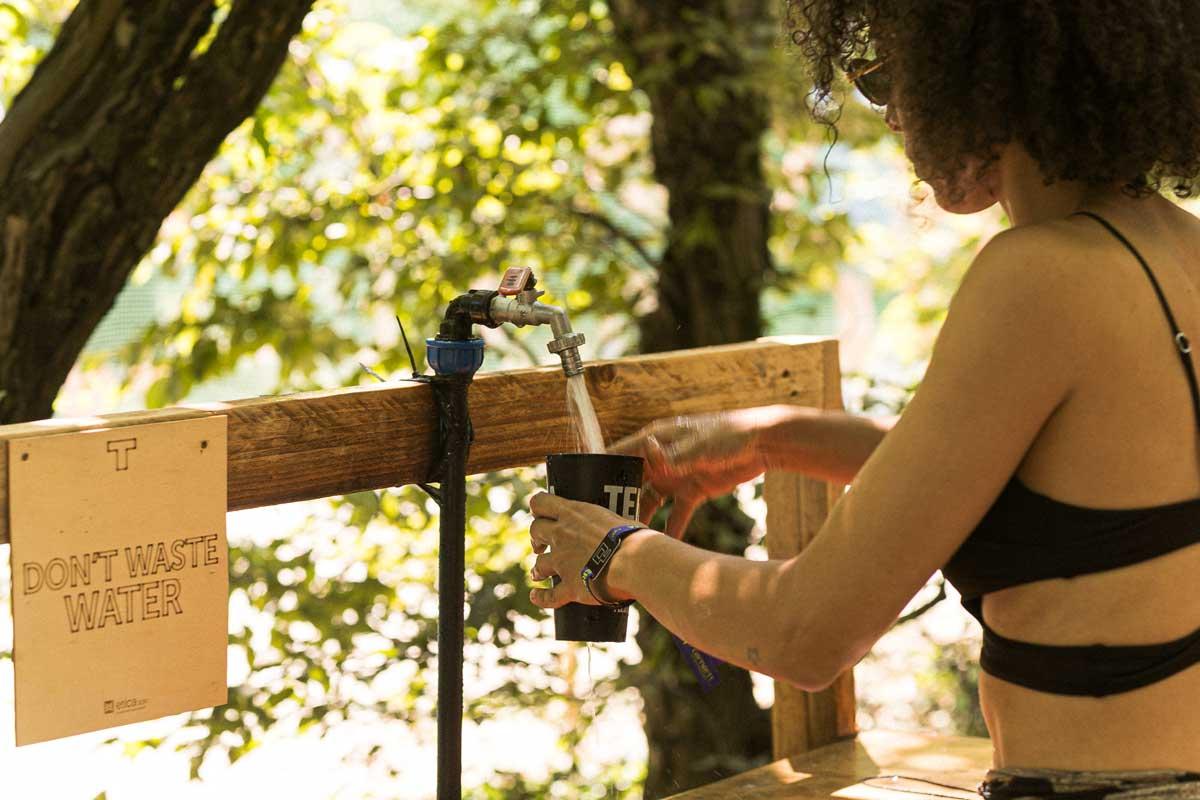 Terraforma festival sostenibilità non sprecare acqua