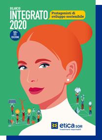 Copertina Bilancio Integrato 2020 Etica Sgr